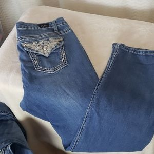 Earl embellished jeans